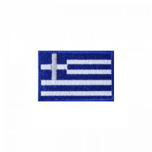 Embroidery Greek Flag - Full Color