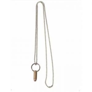 Mil-Tec Necklace w/ Small Cartridge