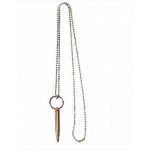 Mil-Tec Necklace w/ Large Cartridge