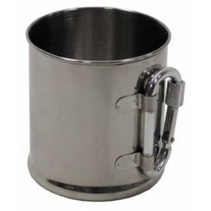 MFH Cup Single Walled Carabiner 220ml