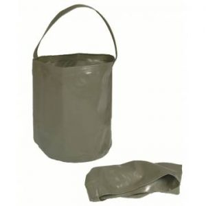 Mil-Tec Foldable Water Bucket - Olive