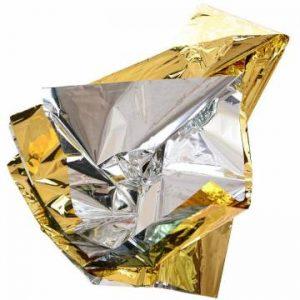 MFH Emergency Blanket - Silver / Gold