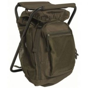 Mil-Tec Backpack w/ Stool - Olive
