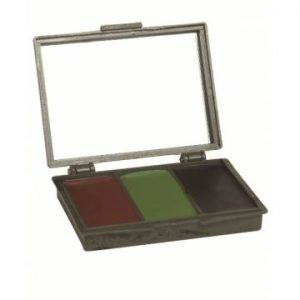 Mil-Tec 3 Colors Face Paint Set w/ Mirror