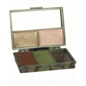 Mil-Tec 5 Colors Face Paint Set w/ Mirror