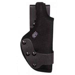 MFH AT Pistol Holster w/ Plastic Cover - Black