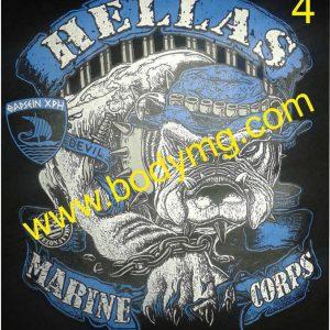 Mπλουζάκι Hellas Army logo 4