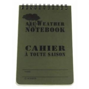 MFH Waterproof Writing Pad 10x15cm