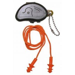 MFH Earplugs Orange w/ Casev