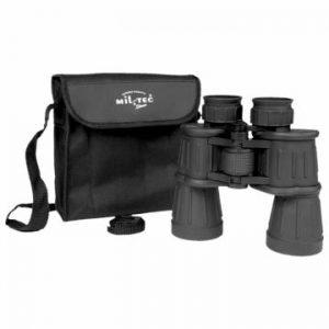 Mil-Tec Binocular 7x50 Rubber Coated - Black