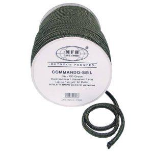 MFH 7mm Commando Rope 60M - Olive