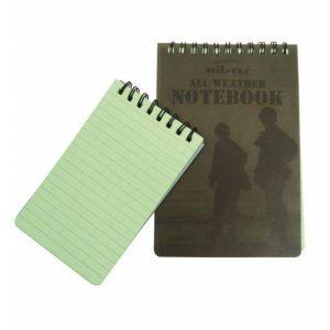 Mil-Tec Message Book Waterproof Large
