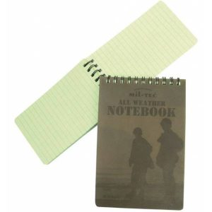 Mil-Tec Message Book Waterproof Small
