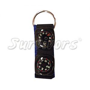 Μπρελόκ για κλειδιά με πυξίδα & θερμόμετρο