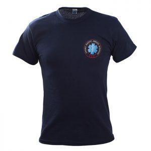 Μπλουζάκι μακό με κέντημα ΕΚΑΒ