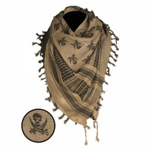 Mil-Tec Shemagh Scarf Skull