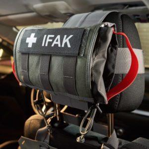 Head Rest IFAK (TT 7944) Head Rest IFAK Τσαντάκι Ατομικού Κιτ Α' Βοηθειών για το Προσκέφαλο Αυτοκινήτου